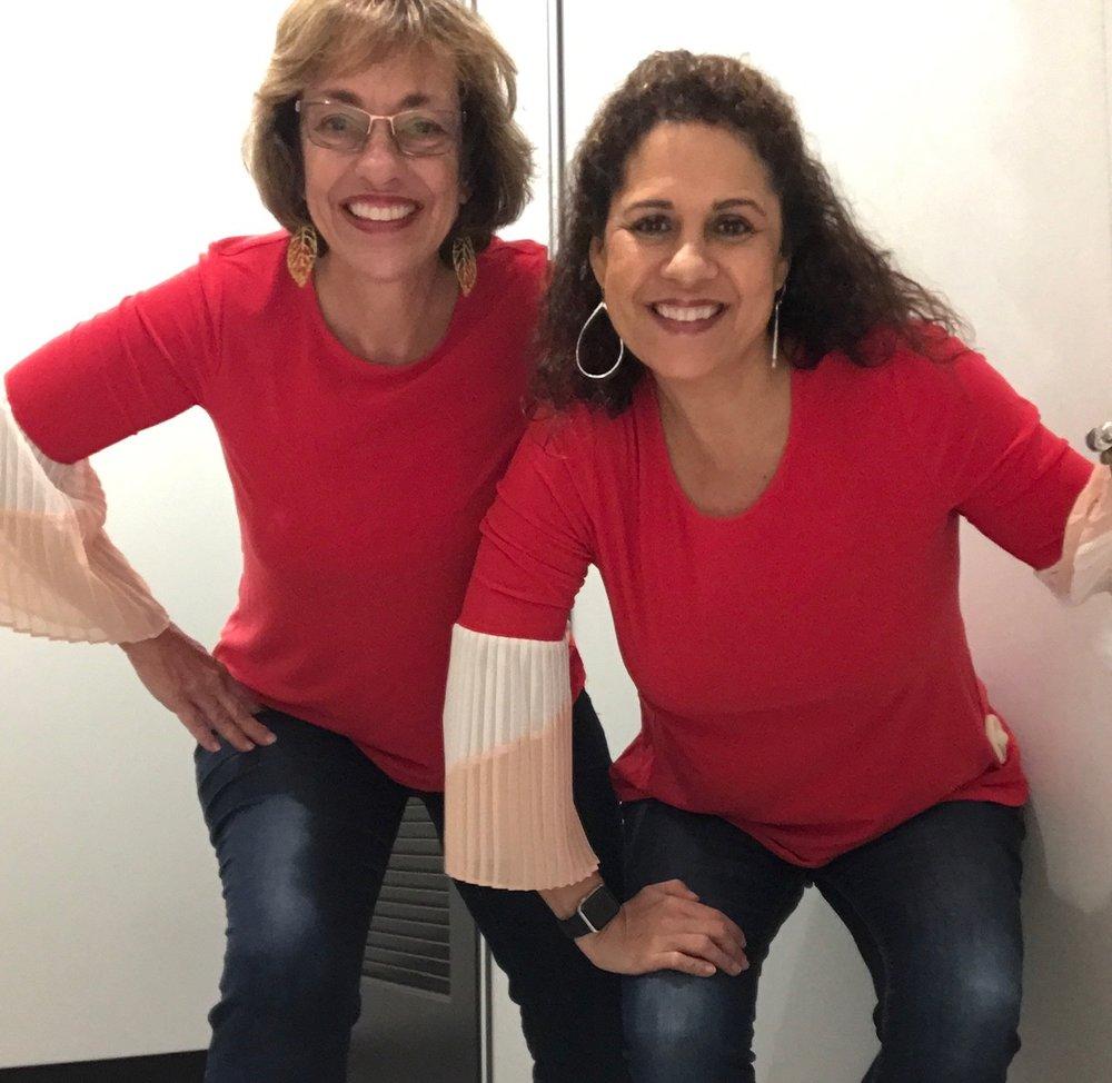 Cheryl and Cindy #ccfashionchallenge