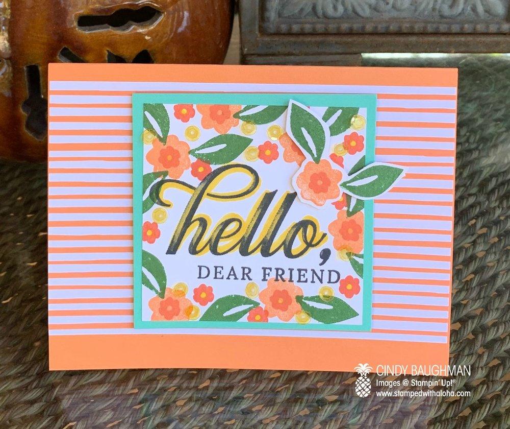 Bloom By Bloom Card