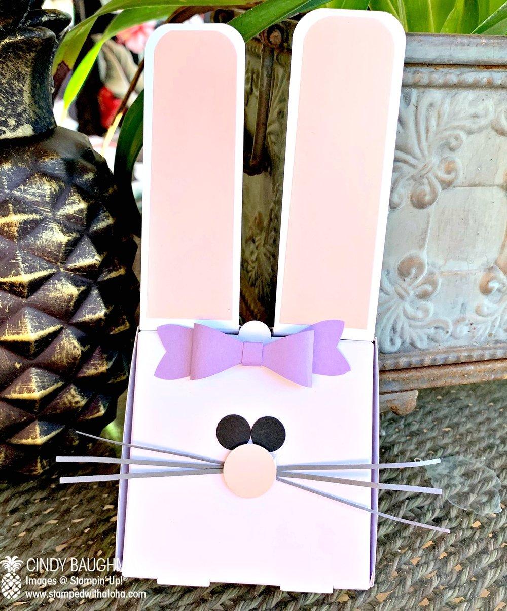 Bunny Pizza Box