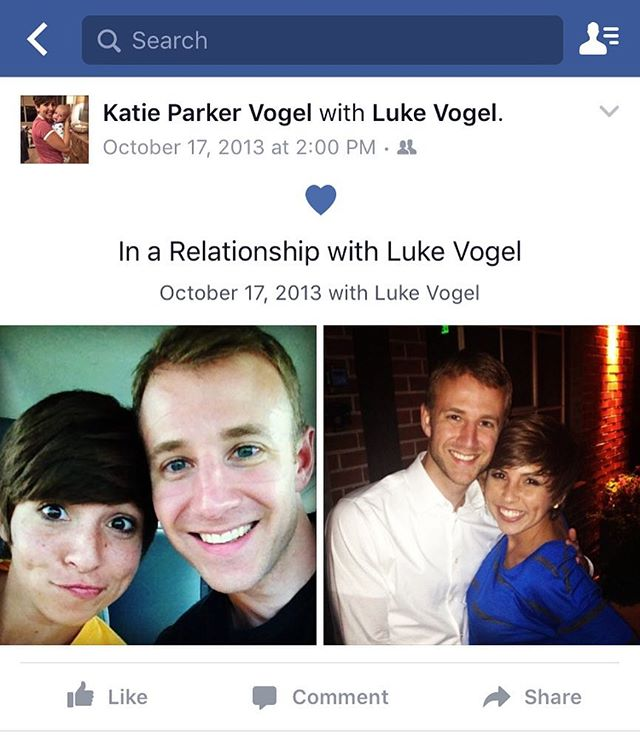 I can't let this day end without saying that I'm so so so so so so so grateful that @lukevogel asked me to be his girlfriend again 3 years ago today. Best second chance ever. ❤️ Love you, boy.