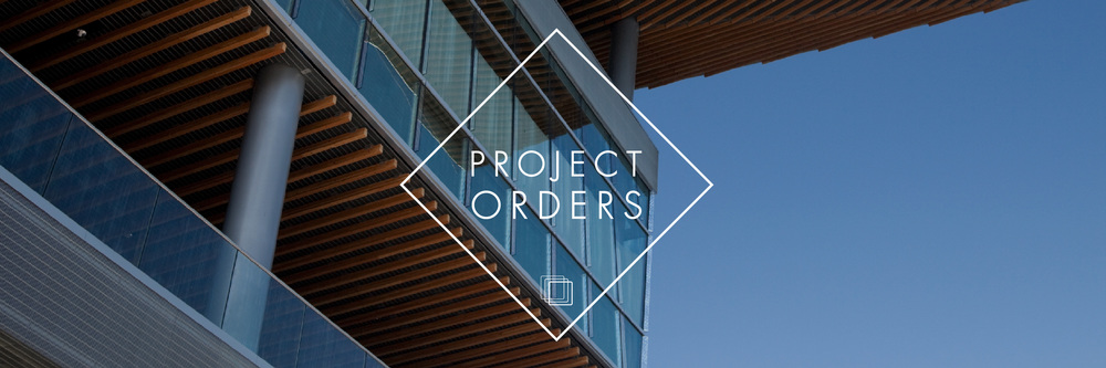 Project orders - huge flexibility to suit your needs