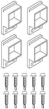 Zeus panel brackets
