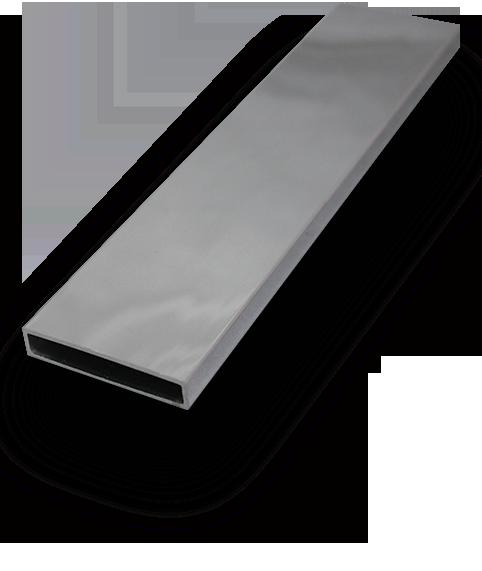 Slimline square offset stainless steel handrail