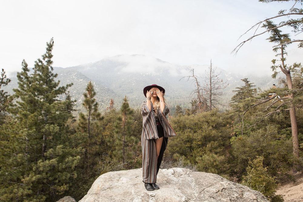 IDYLLWILD Photography by Christina Felice I model Lynette Cenee I Idyllwild, CA