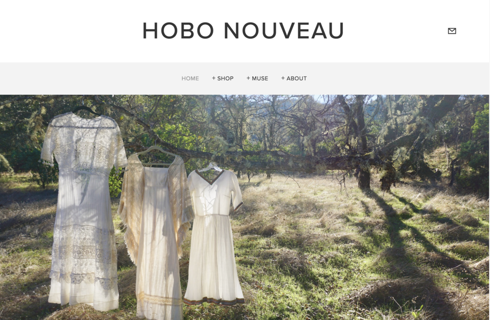 HOBO NOUVEAU | COLLECTIBLES   Web-design, branding consulting and logo design