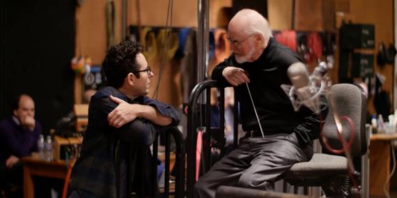 JJ Abrams & John Williams.