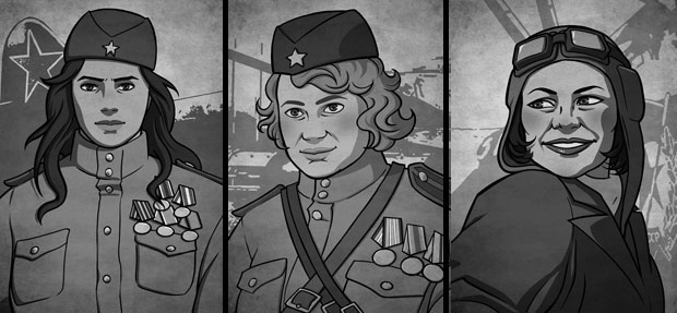 Art from  Night Witches