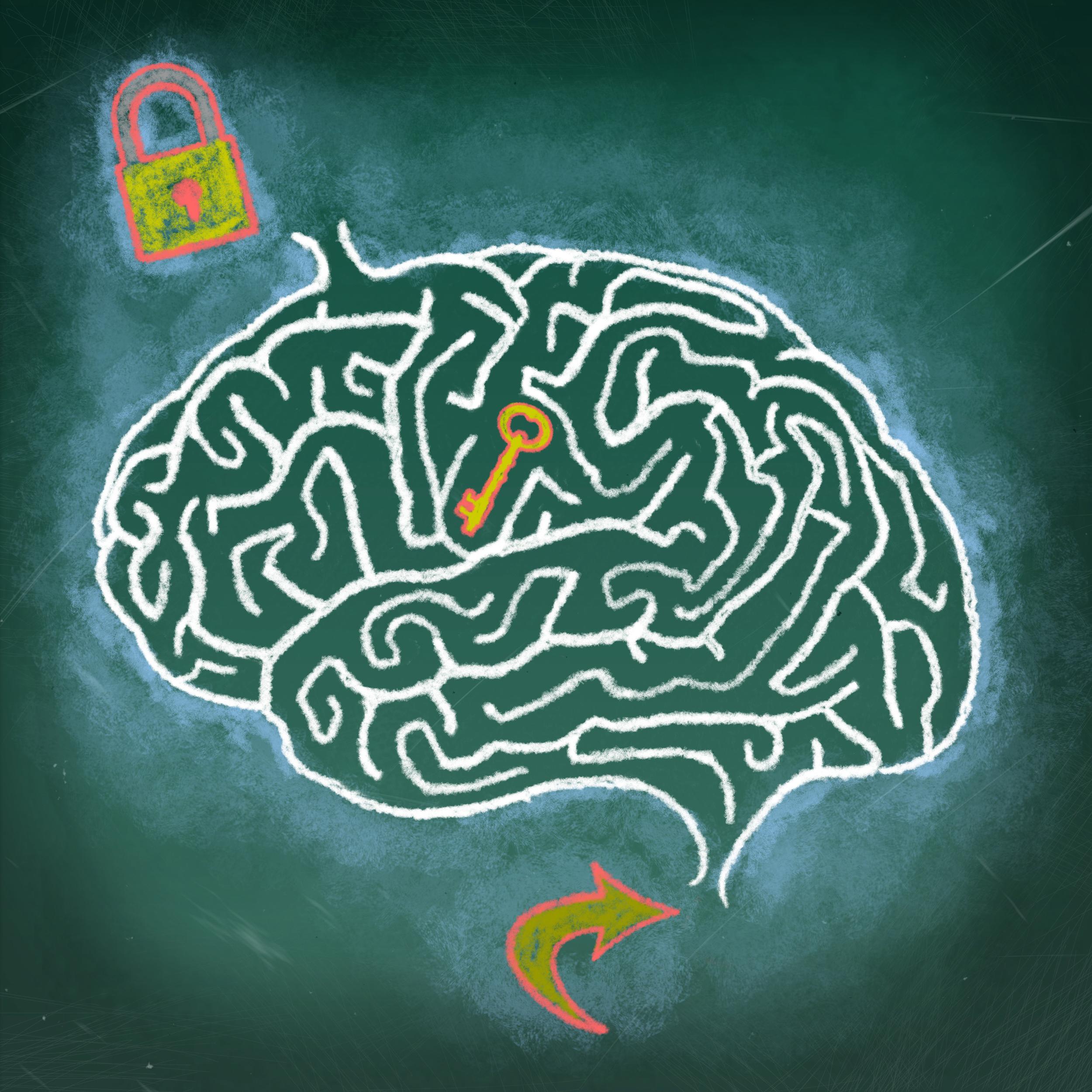 картинки мозг лабиринте зал хинкал