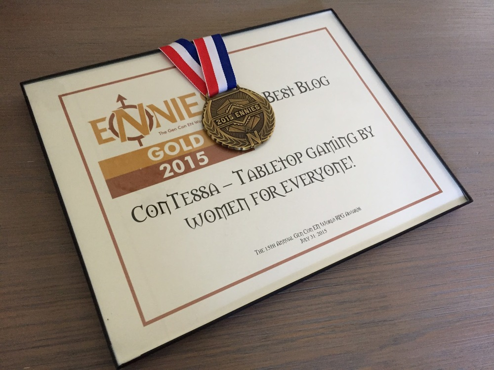 We won a gold ENnie!