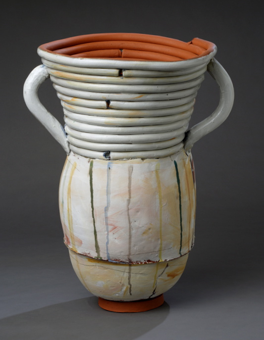 "Large Pot w/drips, 28""x18"" diameter, 2014"