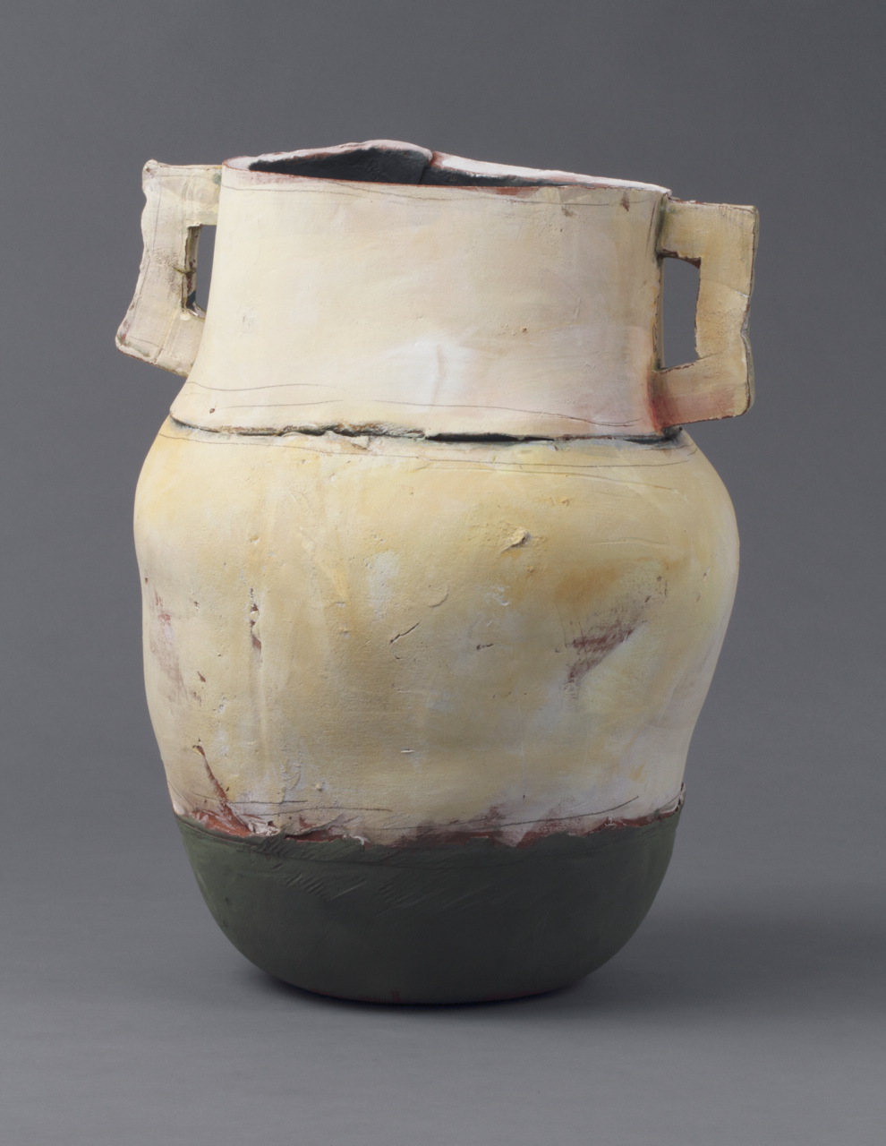 Large Pot with Green Base, 2012