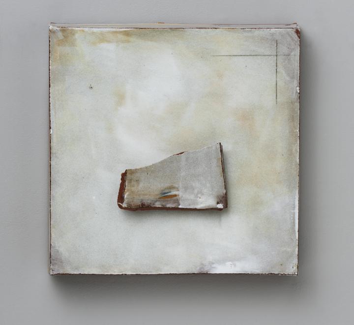 "Findings/ #012, 13""x13""x4"", 2012"