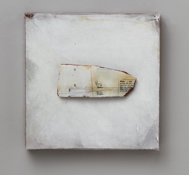 "Findings/ #014, 13""x13""x4"", 2012"