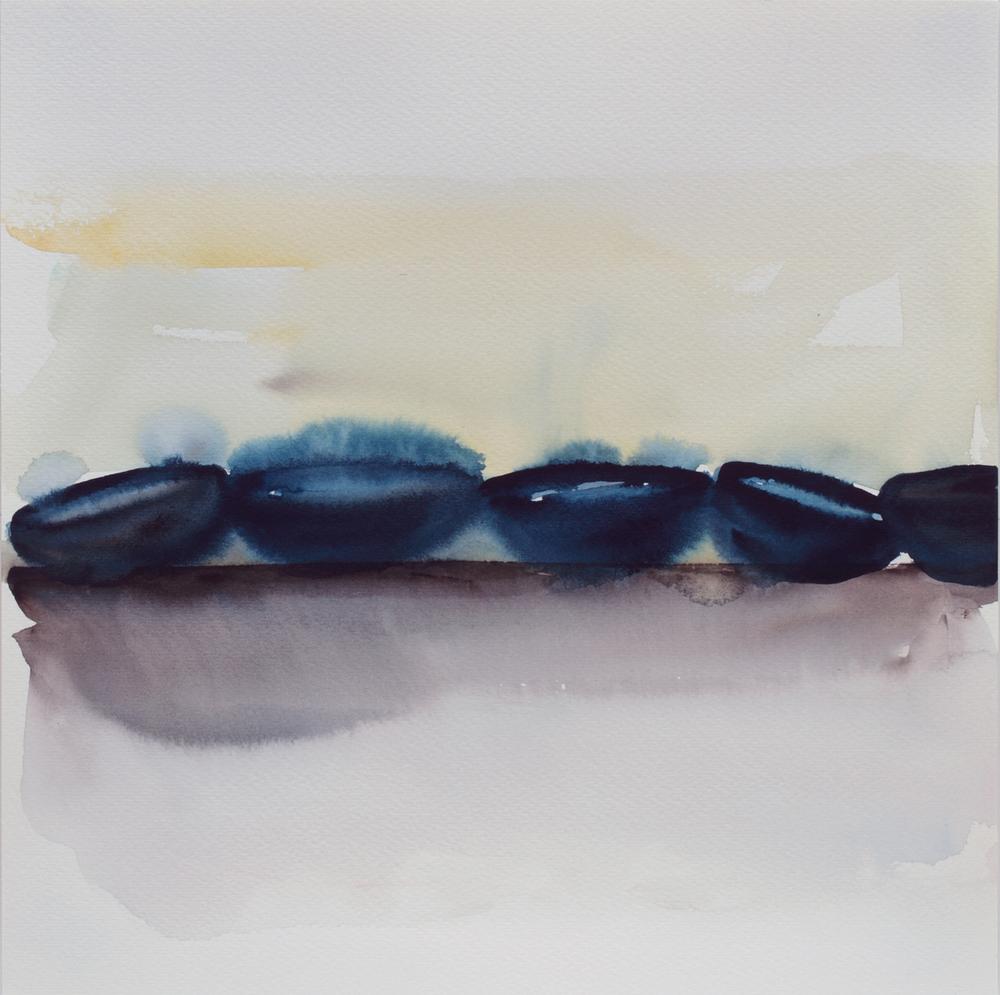 """Cobalt Blue Bowls 12""""x12"""", 2014"""