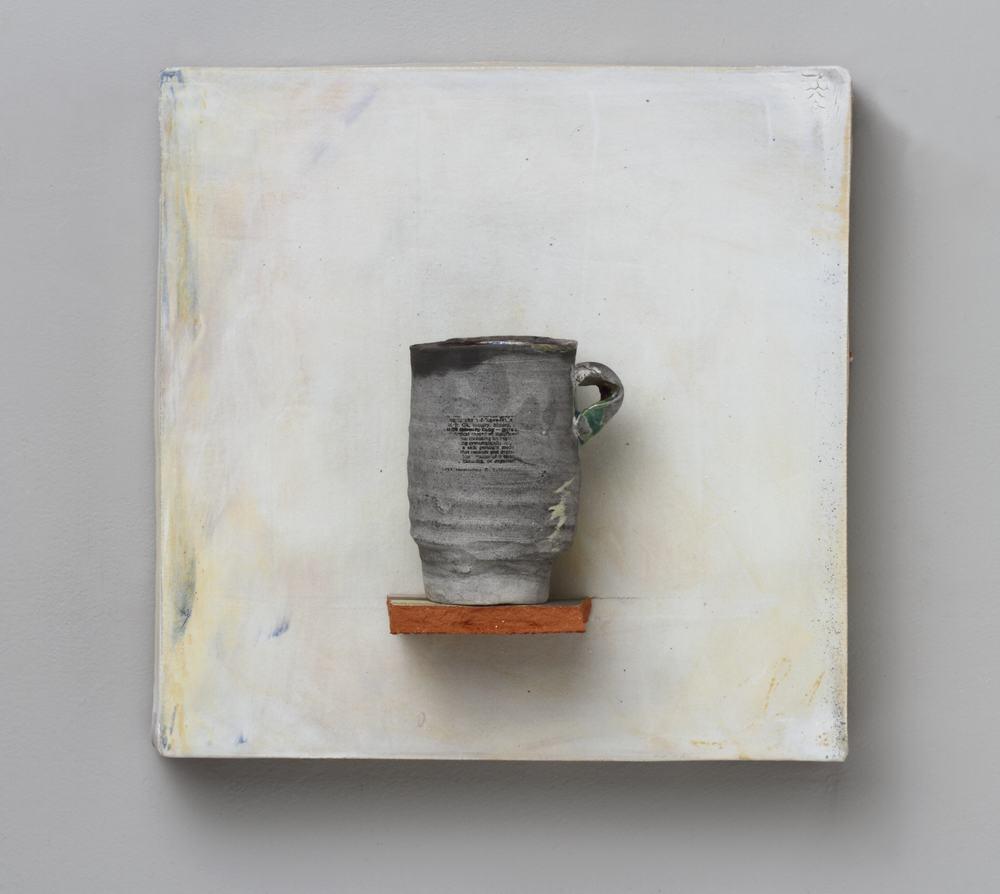 "Findings/ #07, 13""x13""x4"", 2012"