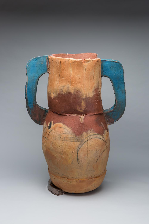"Trophy: Helen (Frankenthaler), 34""x23"" diameter, 2016"