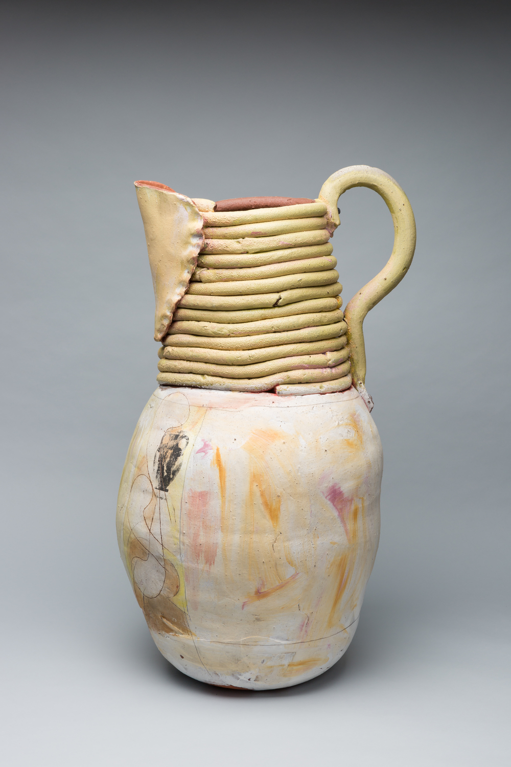 "Large Pot with Spout, 2016, 32""x22"""