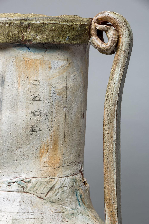 "(Detail) Trophy: Perle (Fine), 22"" x 30"" diameter, 2017"