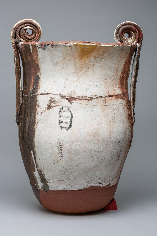 "Trophy: Sonia (Getchoff), 24"" x 30"" diameter, 2017"