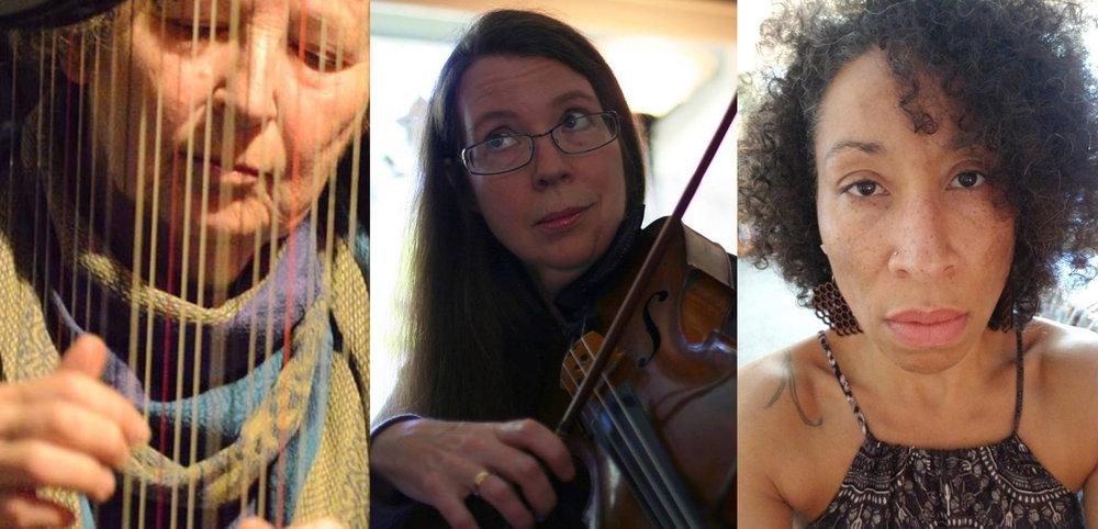 CHA - Carol Levin, Heather Bentley, Amelia Love Clearheart