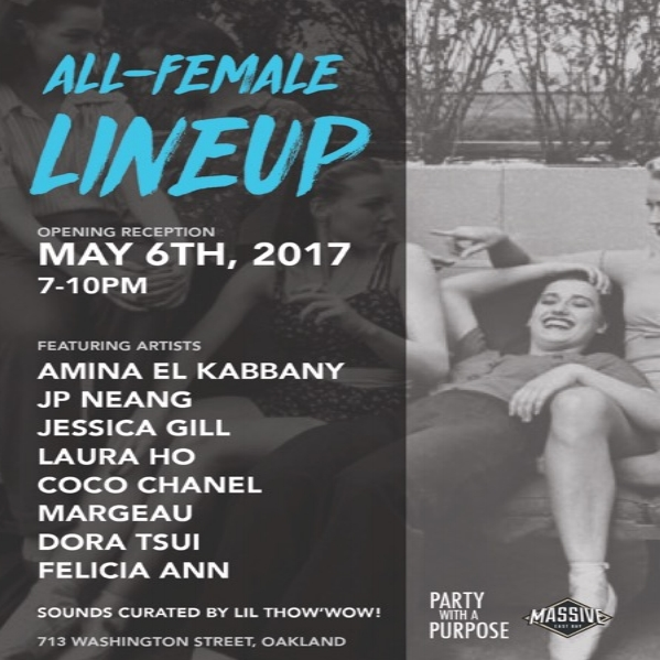 5/6/17 ALL FEMALE LINEUP