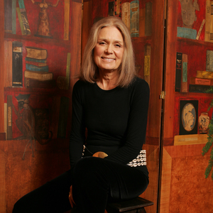 GLORIA STEINEM  PHOTO BY ANNIE LEIBOVITZ