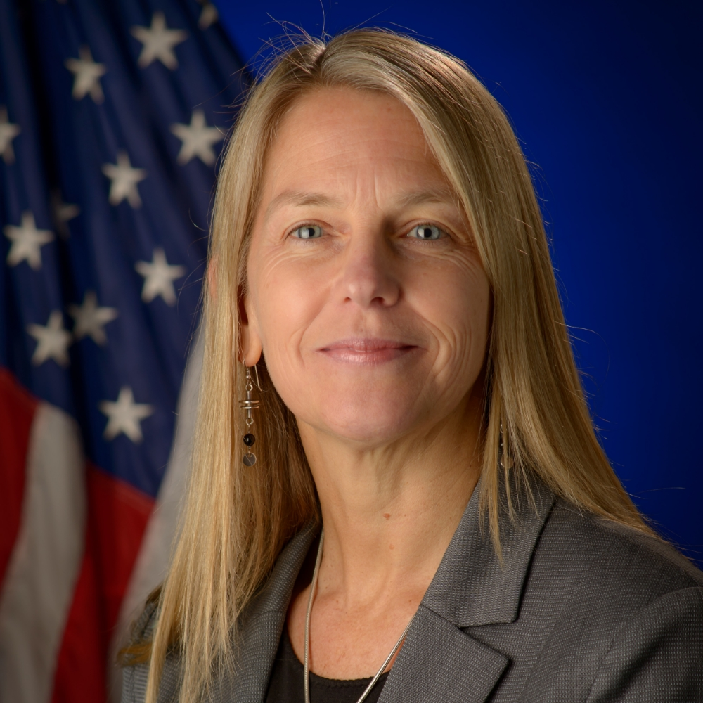 DR. DAVA NEWMAN Photo by: NASA/Bill Ingalls