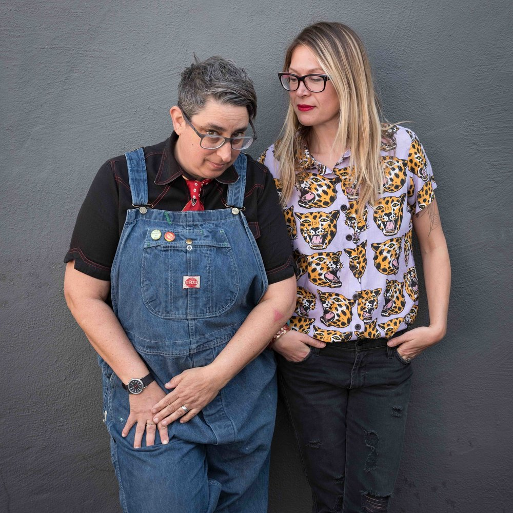 Miriam Klein Stahl and Kate Schatz  Photo by: Casey Orr