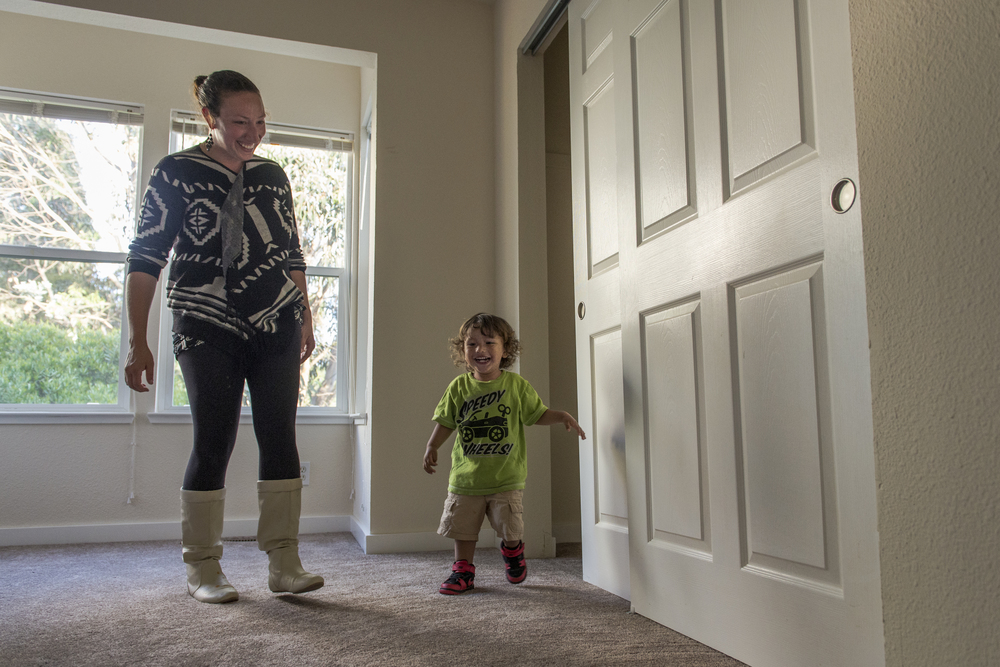 Amanda and Dominic explore their new home in San Francisco Bayview-Hunters Point neighborhood.