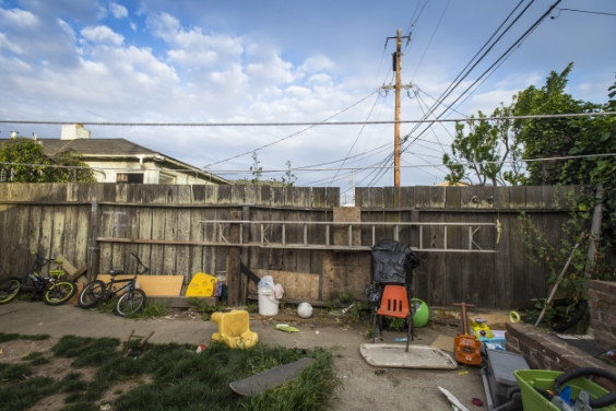 In South San Francisco middle class neighborhood where Amanda and her family have been living since 2007 cost of housing has increased dramatically in the last several years.