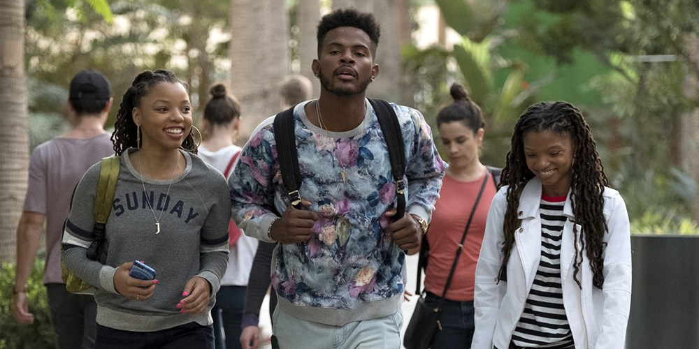 Chloe Bailey, Trevor Jackson and Halle Bailey. Tony Rivetti/Freeform