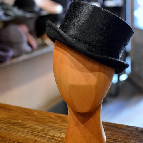 Deadman - The Deadman is a 3 1 2 inch Tall Top Hat in Black ... c432b80ba3c9