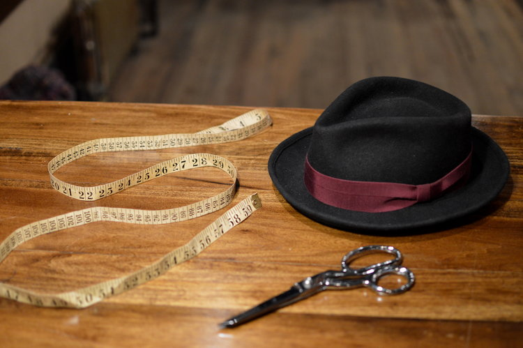 ab7292ca178 East Village Hats - Poirot - A classic simple teardrop porkpie ...