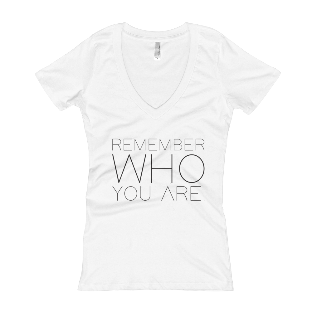 Remember_Who_You_Are_White-V-neck-mock-up_mockup_Flat-Front_White.png