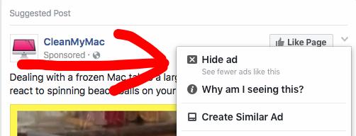 Click Hide Ad