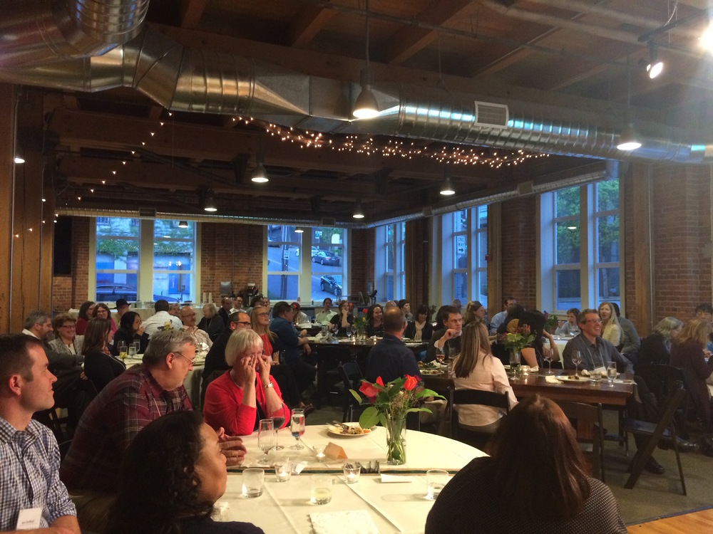 Event Planner for a Benefit Gathering • April 2015   Responsible for decor, building set up, food, drinks, and volunteers at  The Seattle School of Theology and Psychology Benefit Dinner . Served over 70 guests, students, faculty and staff.