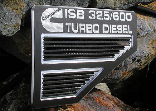 Cummins ISB 325_600 Turbo Diesel