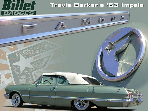 Travis Barker Famous Impala
