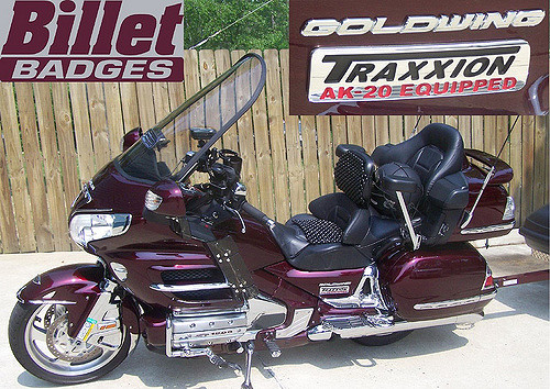 Goldwing Traxxion Customer Rides