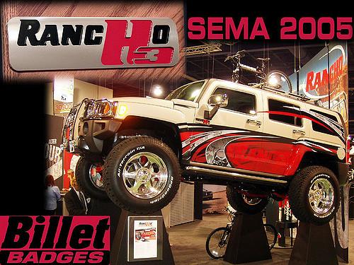 Ranch Hummer H3 SEMA 2005