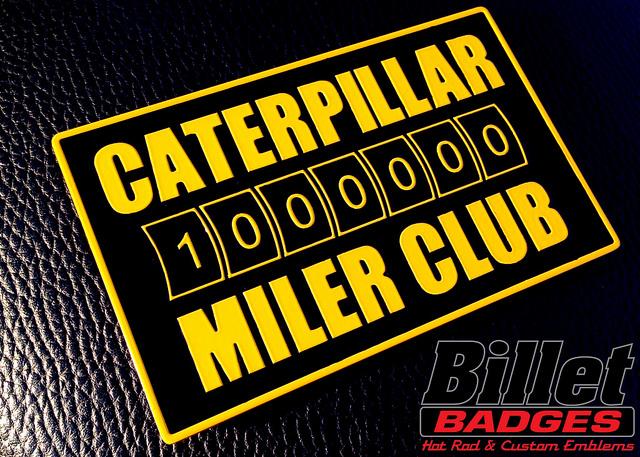 Caterpillar 1,000,000 Miler Club
