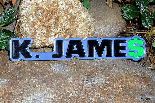 K. Jame$