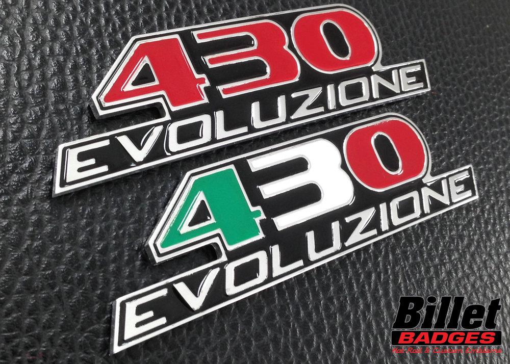 430 Evoluzione (Italian Flag)