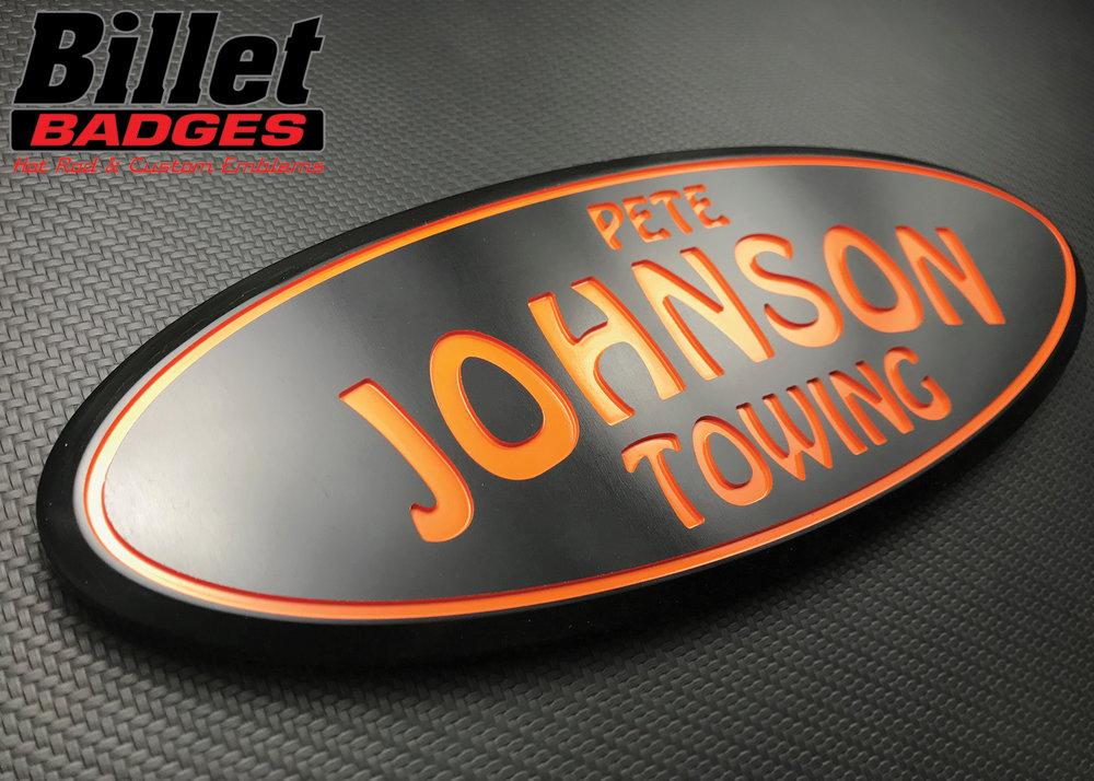 Pete Johnson Towing Logo