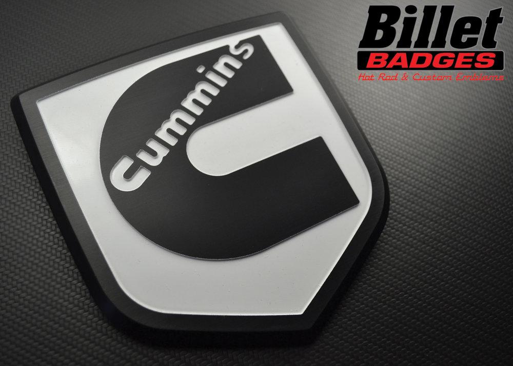 Ram Style Shield Gallery Billet Badges Inc