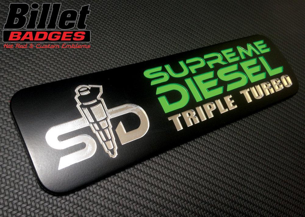 Supreme Diesel Triple Turbo