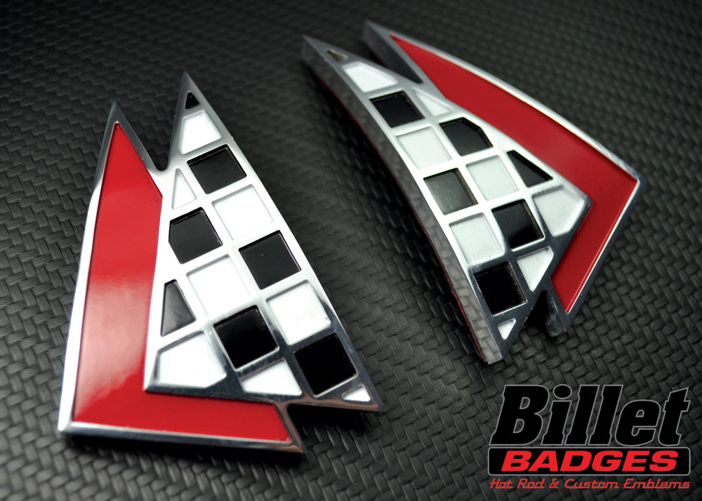 63' Impala Triangle Checkered Flags