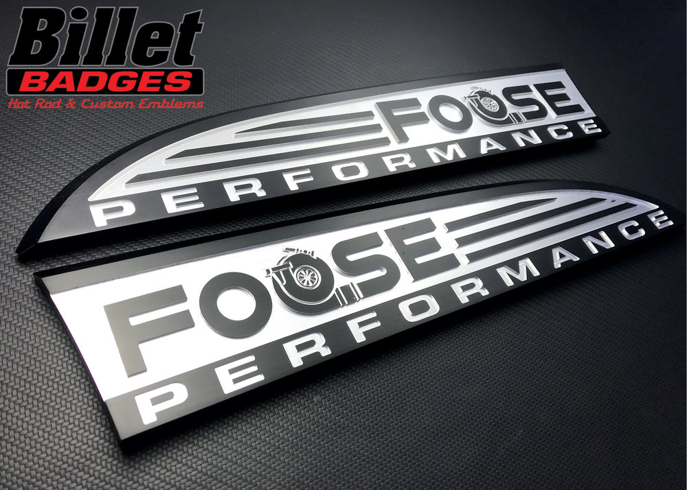 No, not that Foose… brushed carbon black / machined raw aluminum