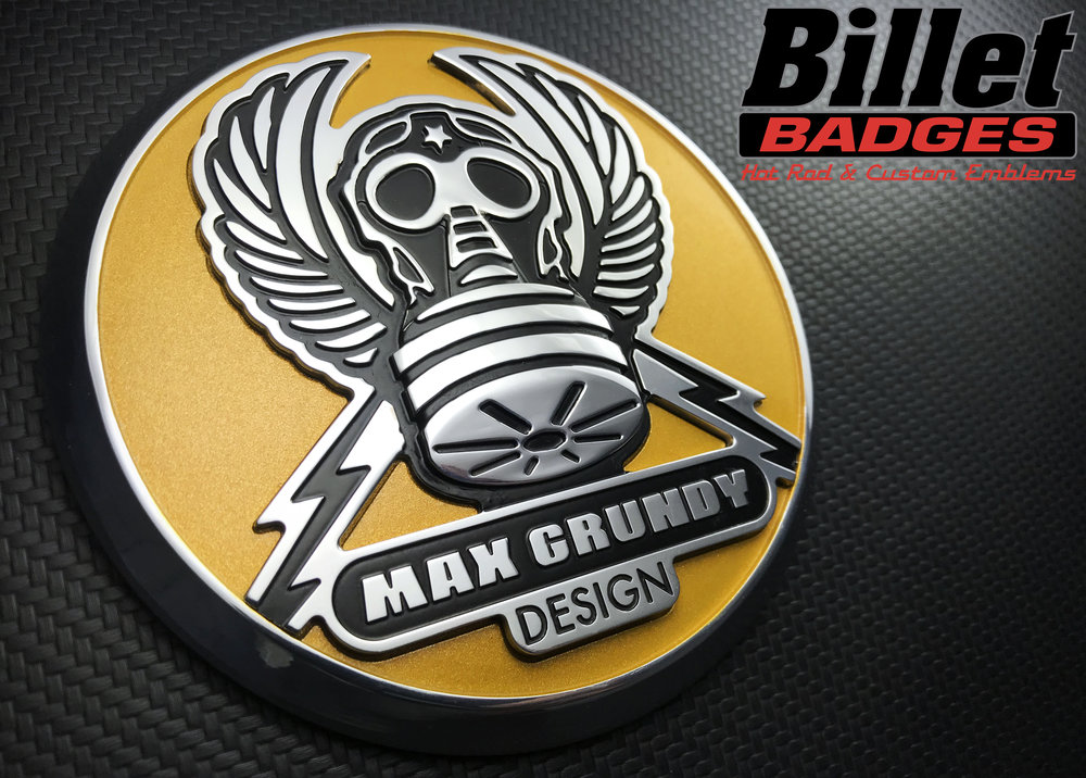Max Grundy Winged Gas Mask