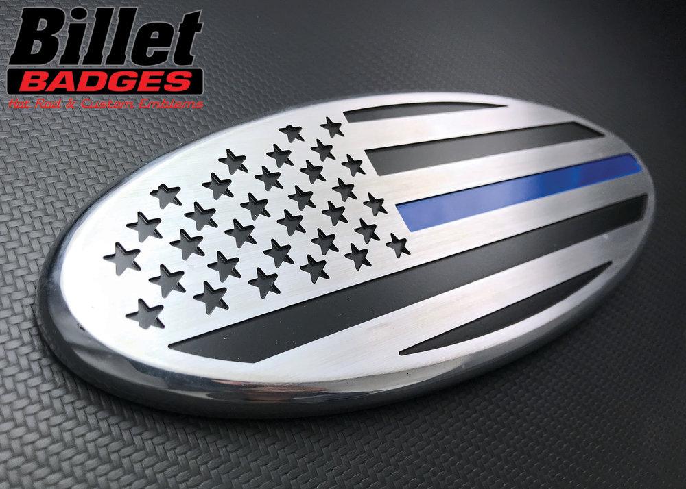 American Flag Straight (Police)